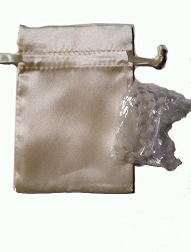 Amazon.com: Plastic rosary with Satin Bag - Rosario de ...