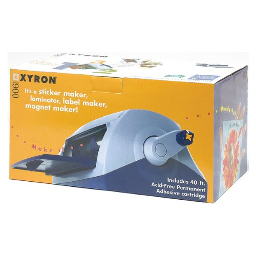 Xyron 900 Sticker/Laminate/Magnet/Label Machine 1 pcs sku# 633674MA by Xyron
