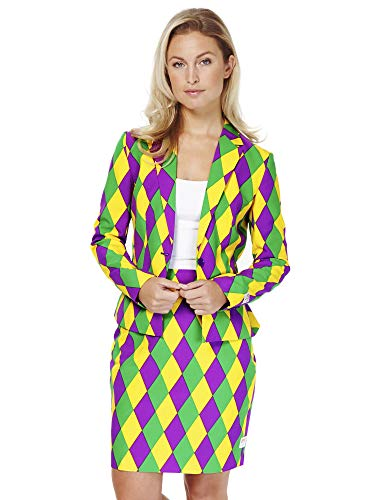 OppoSuits Crazy Suits with Funny Prints for Women-