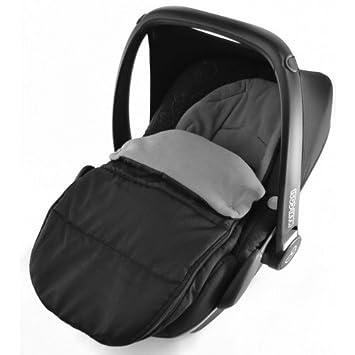 Saco de dormir para asiento de coche, compatible con Kiddy Evo Lunafix, color gris: Amazon.es: Bebé