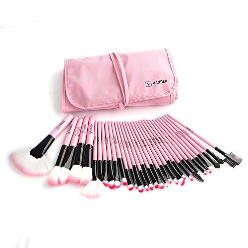 Make up Brushes, Yikey 2019 Valentine's Day Surprise Best Gift For Girlfriend Lover Wife Party Under delivery 1 Set/32 PCS