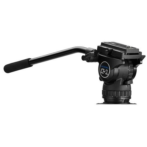 Acebil CH1 75mm Fluid Ball Head for DSLR and Light Weight DV/HDV Cameras, 15.4lbs Capacity by Acebil
