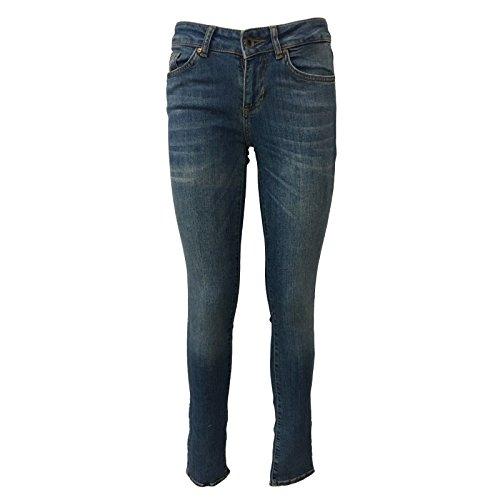 Mod Donna Medium Mira Masontobacco Jeans Alta 1247015 Con Vita Rise Skinny Zip Seven7 UPTx18n5x
