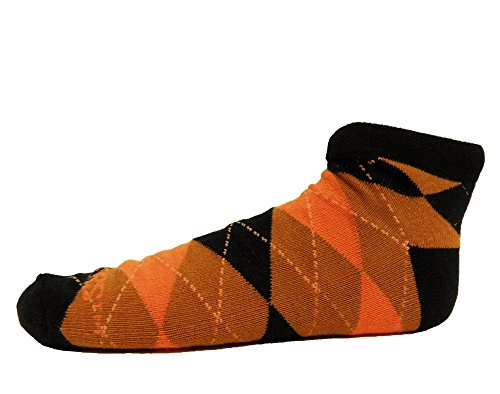 Donegal Bay NCAA Oregon State Beavers Argyle No Show Footie, One Size, Black ()