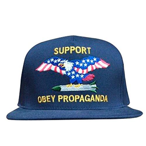Obey Gorra Plana Support Propaganada Snapback: Amazon.es: Ropa y accesorios