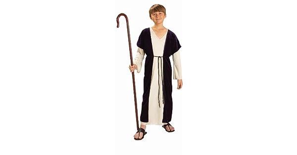 Amazon.com: Disfraz de pastor para niño., Niño(a) M ...