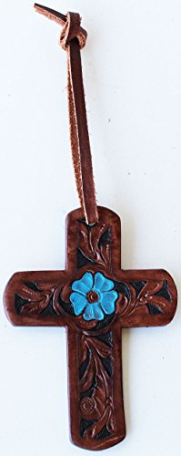 PRORIDER 4″ Western Riding Barrel Horse Saddle Leather Cross Tie 9699