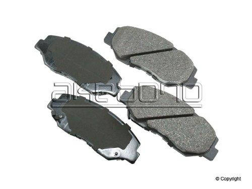 Akebono ACT914 ProACT Ultra-Premium Ceramic Brake Pad Set
