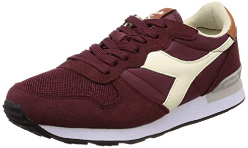 Wht Diadora Camaro Burgundy leather C7744 whisper x1Sq4wIaF1