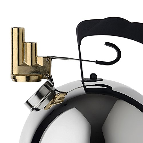 Alessi 9091 Kettle By Richard Sapper with Melodic Whistle by Alessi (Image #3)