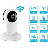 Surveillance Cameras HD 720P Cloud Storage Wireless Video Camera Night Vision IR lights IP Safety Security Home Monitoring System