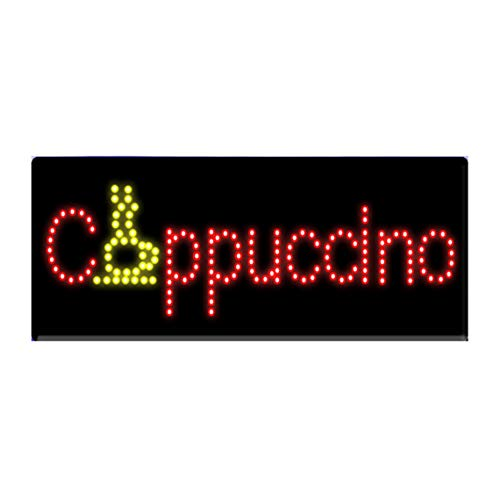 LED Coffee Cafe Shop Open Light Sign Super Bright Electric Advertising Display Board for Tea Cappuccino Espresso Bar Business Shop Store Window Bedroom 32 x 13 ()
