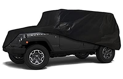 CarsCover Custom Fit 100% Sunblock 2004-2016 Jeep Wrangler Unlimited 4 Door SUV Xtrashield Car Cover