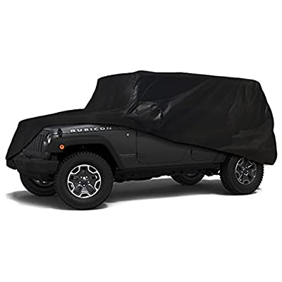 Xtrashield Custom Fit 2004-2020 Jeep Wrangler Unlimited 4 Door SUV Car Cover: Automotive