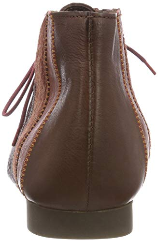 Guad Kombi para Cordones Zapatos 383274 42 Marrón Derby Think Espresso de Mujer dPYCdx