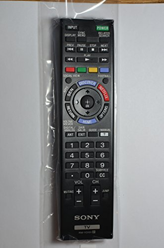 Original Sony LCD LED TV SmartTV Remote Control RM-YD101 Supplied with models: KDL-40W605B KDL-640W607B KDL-40W609B KDL-48W605B KDL-48W607B KDL-48W609B KDL-60W605B KDL-60W607B