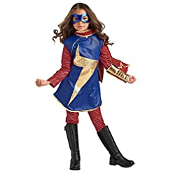 Marvel Ms Costume for Kids Size 9/10 Multi