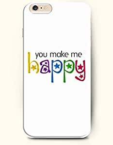 iPhone 6 Case,iPhone 6 Plus (5.5) Hard Case **NEW** Case with the Design of you make me happy - ECO-Friendly Packaging - Case for iPhone iPhone 6 Plus (5.5) (2014) Verizon, AT&T Sprint, T-mobile