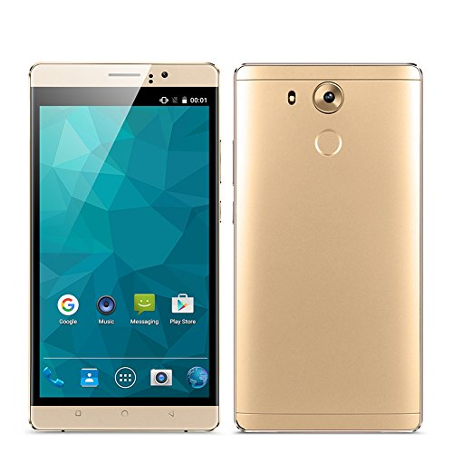 Padcod Unlocked 3G Smartphone,6 inch IPS Screen Android 5.1 Cellphone,MTK6580 4 Core 1.3GHz, 8GB ROM,Dual Sim,Dual Camera,WIFI GPS G-Sensor SIM-Free 2G/3G 4800mAh Battery (Cell Phones Wifi)
