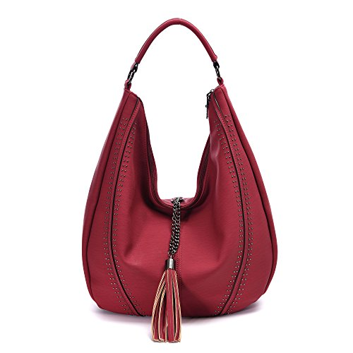 Handbags for Women Hobo Shoulder Bags Leather Tote Large Capacity PU Purses Valentines Day Gifts for - Ridiculous Sunglasses