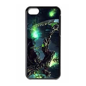 Thresh League Of Legends iphone 5C Cell Phone Case Black Phone Accessories JV171979