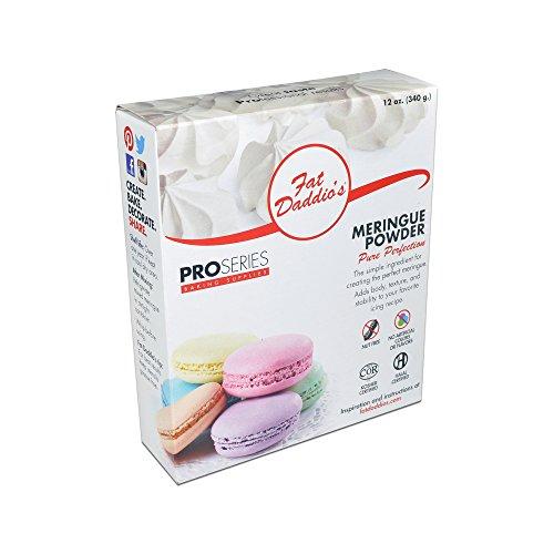 Fat Daddio's MRNG-012 Premium Meringue Powder, 12 oz.]()