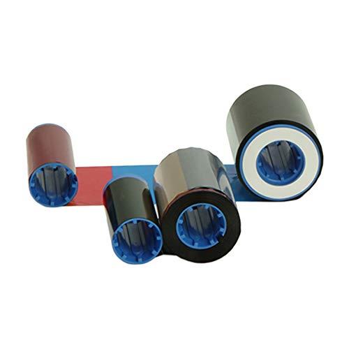 (Zebra 800012-480 True Colours iSeries YMCKK Color Ribbon for ZXP Series 8 & 9 Retransfer Card Printers. 500 Prints.)