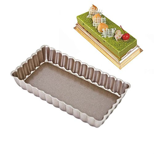 BESICA Square Tiramisu Cake Mold, Springform Toast Pan