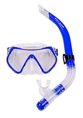 O.B Toys&Gift Body Glove Snorkel Set, Adult Recreational Series Mask and Snorkel,Blue