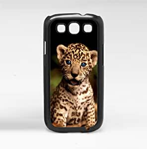 Baby Tiger with Blue Eyes Hard Snap on Phone Case (Galaxy s3 III)