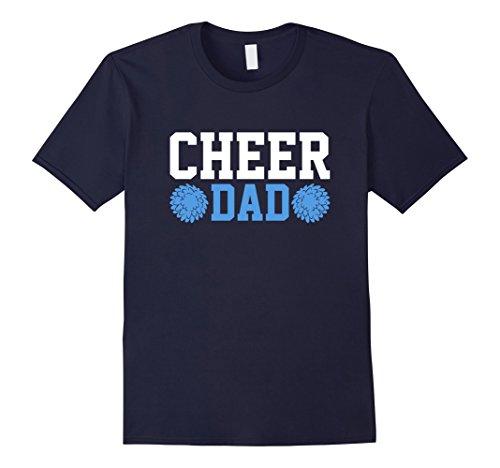 Mens Cheer Dad Cheerleader T-Shirt for Fathers Men Gift XL (Cheap Cheer Shirts)