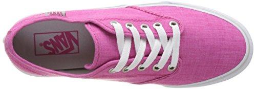 Sneakers Wm Stripe linen Vans Rose Camden Basses Femme wqtqvEd