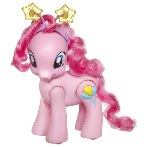 My Little Pony Walking Talking Pinkie Pie Figure ()