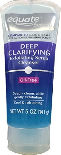 Equate Beauty Deep Clarifying Exfoliating Scrub, 5 Oz -
