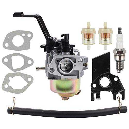 Dalom 6.5HP 196cc Generator Carburetor for Generac GP3250 DuroMax XP3500 XP4400 MX4500 DuroStar DS4000S DS4400 DS4400E DS4400S All Power America Powermate BlackMax 208cc 212cc Portable Generator