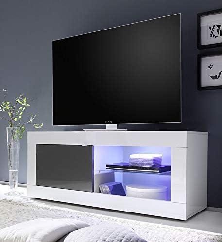 Kasalinea Ariel 3 - Mueble para televisor, Color Blanco y Gris ...
