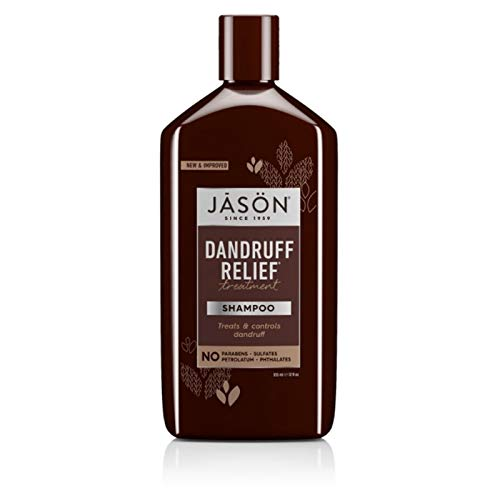 Jason Dandruff Relief Treatment Shampoo 12 oz (Pack of 12) by Jason Natural
