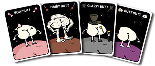Butts in Space: The Card Game