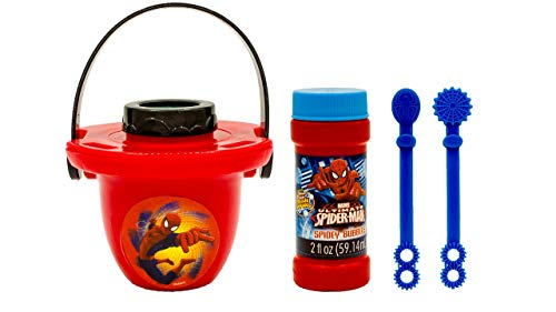 (Imperial Toy Bubble Dipper Spiderman No-Spill Pail Kit (1 Kit ))