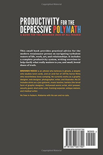 Productivity for the depressive polymath brennen reece productivity for the depressive polymath brennen reece 9781537037790 amazon books fandeluxe Image collections