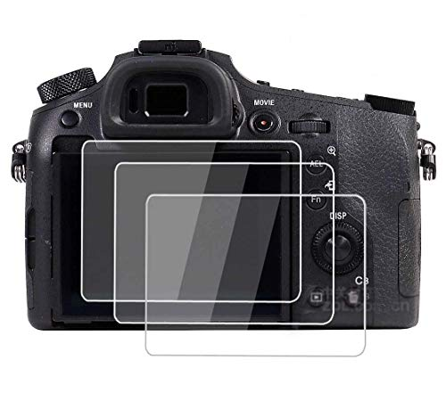 PCTC Tempered Glass Screen Protector Skin Film for Sony rx 10 Mark III RX10 III RX10 IV DSC-RX10M3 A9 A7 III A7II A99II A99 Mark ii A77 Mark ii (3 Pack)