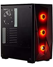 CORSAIR CC-9020132-EU SPEC-DELTA RGB TEMPERED GLASS MID-TOWER ATX GAMING CASE +CV650 POWER SUPPLY BLACK
