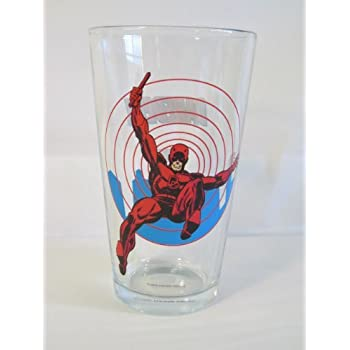 Amazon.com | Captain America Glass Toon Tumbler: Captain