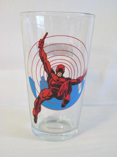 Daredevil Toon Tumbler 16 Oz. Pint Glass Marvel Comics