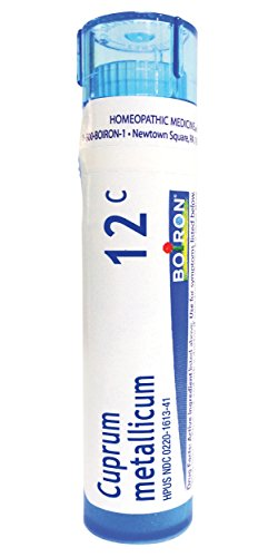 (Boiron Cuprum Metallicum 12C, 80 Pellets, Homeopathic Medicine for Leg Cramps and Muscle Cramps)