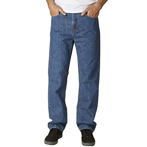 Fox Racing Mens Garage Jean Pants 42 Medium Stonewash (Fox Racing Stones)