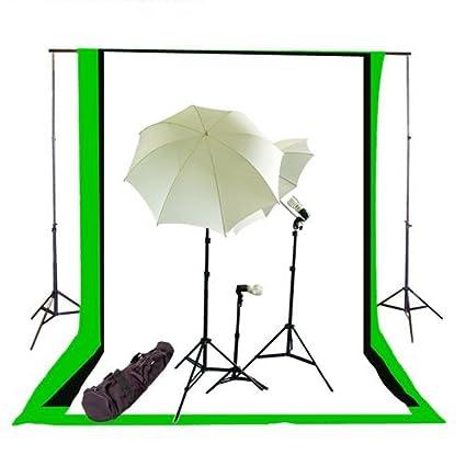 CowboyStudio Complete Photography/Video Studio Triple Lighting Light Kit 10u0027 x 12u0027  sc 1 st  Amazon.com & Amazon.com : CowboyStudio Complete Photography/Video Studio Triple ...