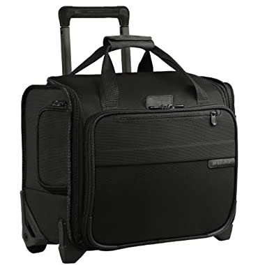 Briggs & Riley @ Baseline Luggage Baseline Rolling Cabin Bag, Black, Small
