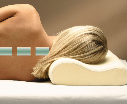 oreiller restform Restform   Oreiller ergonomique à mémoire de forme   51x31x10 cm  oreiller restform