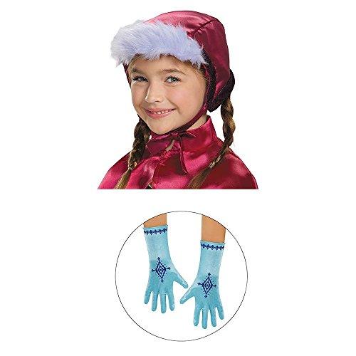 Disguise 83213 Anna Bonnet Gloves